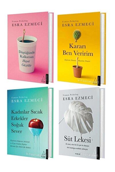 peta kitap Esra Ezmeci Düştüğünde Kalkarsan Hayat Güzeldir – Kararı Ben Veririm + 2 Kitap