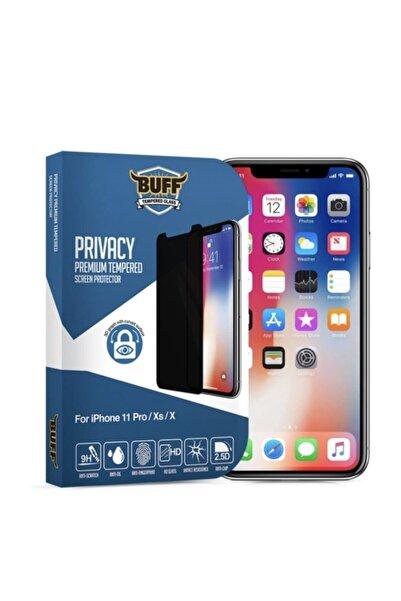 Buff Iphone 11 Pro / X / Xs Uyumlu Privacy Hayalet Darbe Emici Ekran Koruyucu