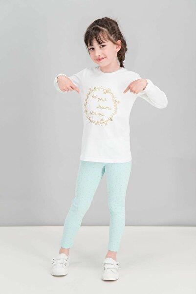ROLY POLY Kız Çocuk Krem Let Your Dreams Pijama Takımı