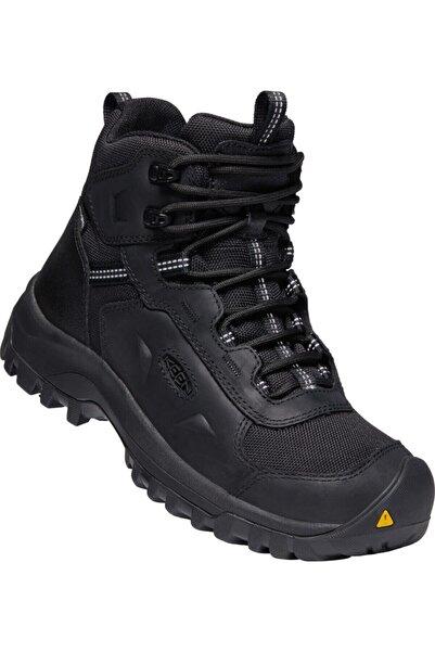 Keen Kadın Siyah Basın Rıdge Mıd Wp Outdoor Ayakkabı