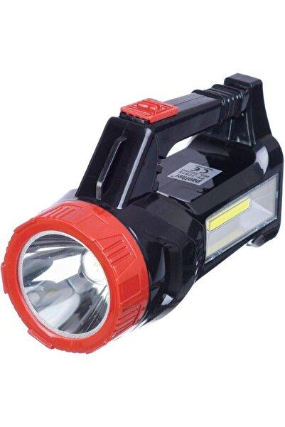 Panther Usb Şarjlı Solar Güneş Enerjili El Feneri Işıldak Lamba (kod: Pt7757s)