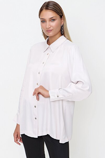 Aker Kadın Beyaz Tunik