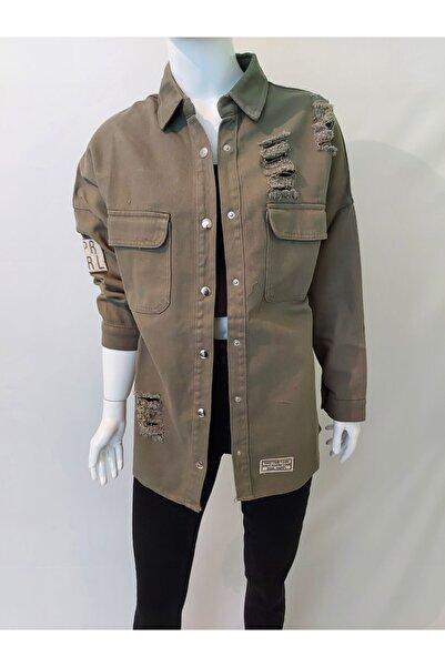 İlaybutik Haki Ceket