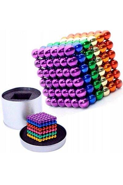 Raicon Neodyum Mıknatıs 6 Farklı Renkli Sihirli Manyetik Toplar 216 Parça