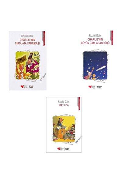 Can Yayınları Charlie'nin Çikolata Fabrikası - Matilda - Charlie'nin Büyük Cam Asansörü - Roald Dahl
