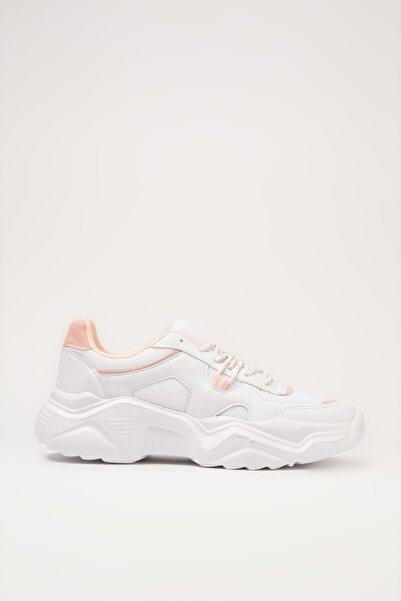 Yaya by Hotiç Beyaz Kadın Sneaker 01AYY213500A907