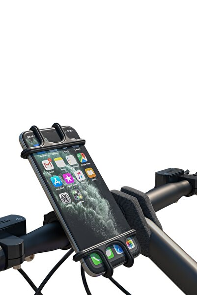 PUFWİN Universal 360° Dönebilen Bisiklet Telefon Tutucu