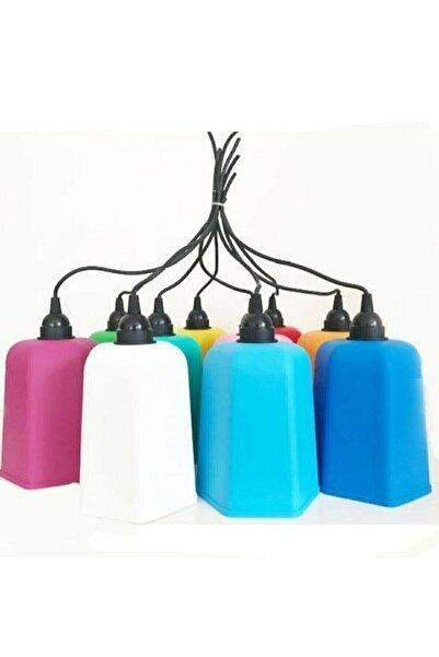 Lumens Alaçatı Karışık Renk Ağaç Feneri - 4 Adet
