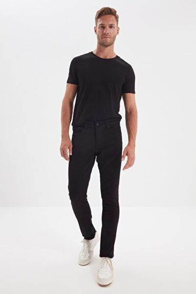 TRENDYOL MAN Siyah Erkek Skinny Jeans TMNAW21JE0226