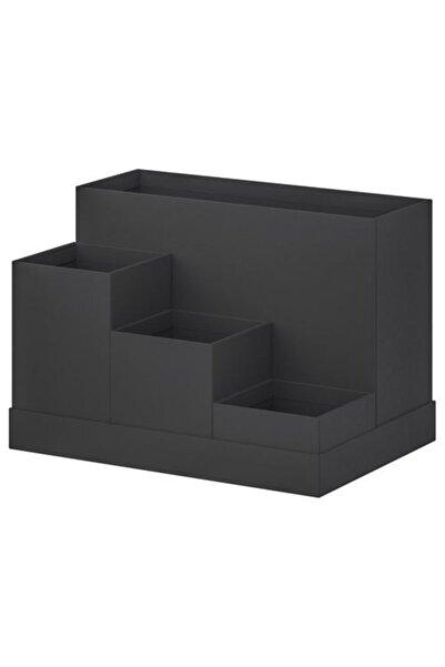 IKEA Masaüstü Düzenleyicisi Siyah Renk Meridyendukkan 18x17 Cm Ofis-masa Üzeri Düzenleme