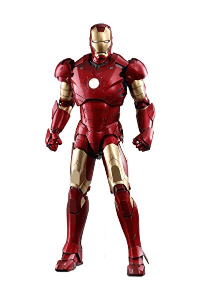 MARVEL Hot Toys Iron Man Mark Iıı Deluxe Version Quarter Scale Figure