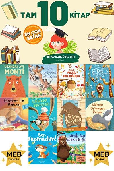 İş Bankası Yayınları Utangaç Ayı Monti-seni Seviyorum Miniğim-küçük Meşe Palamudu Tam 10 Kitap Evon Tonguç Tudem