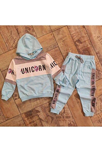 HediyeBahane Kız Çocuk Unicorn Eşofman Takımı