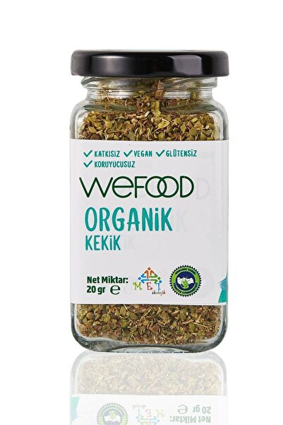 Wefood Organik Glütensiz Vegan Katkısız Kekik 20 gr