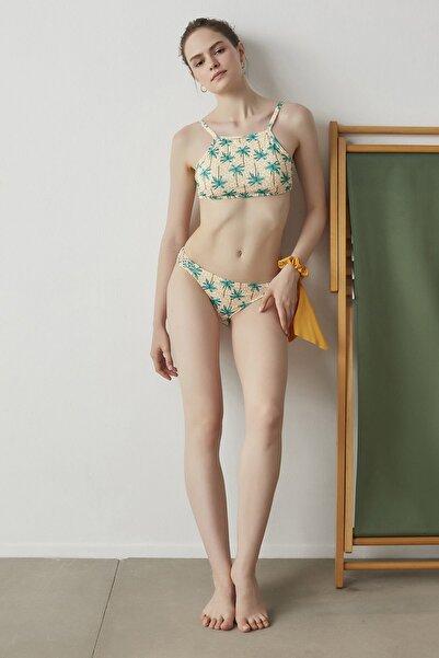 Penti Çok Renkli Maya Halter Bikini Üstü