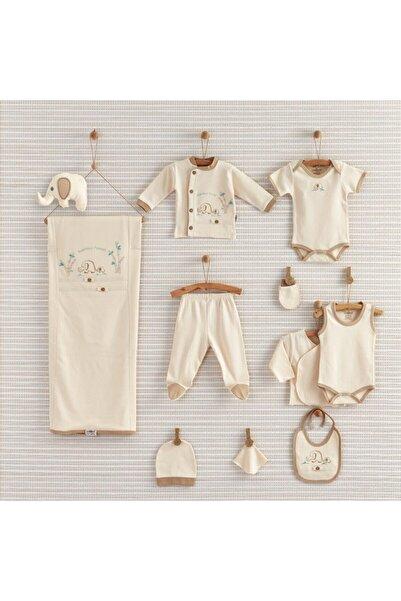 Bebbek Bebek Organic Filli 10 Parça Yeni Doğan Hastane Çıkış Seti