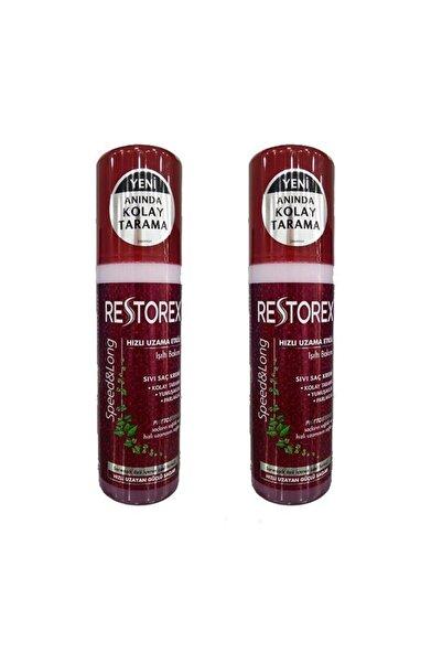 Restorex Sıvı Saç Kremi Sağlıklı Uzama Etkili 200 ml X 2 Adet
