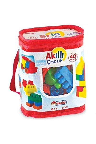 DEDE Akıllı Çocuk 40 Parça Logo Seti
