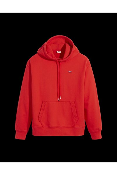 Levi's Standard Hoodıe Flame Scarlet
