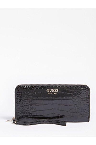 Guess Kadın / Kız Cüzdan & Kartlık Swcg78 Katey Slg Large Zıp Small Leather Goods Black