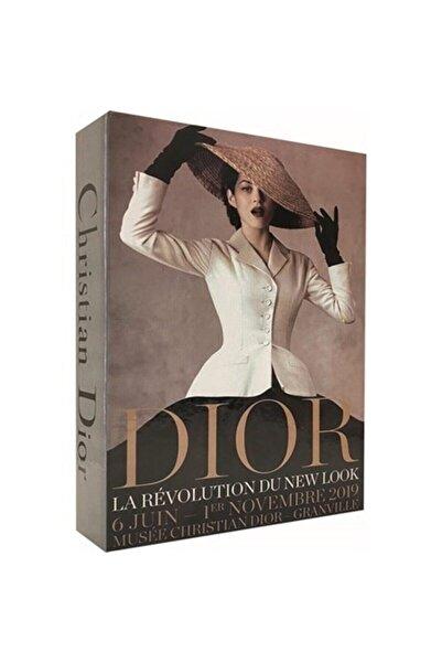 irayhomedecor Christian Dior Dekoratif Kitap Kutusu