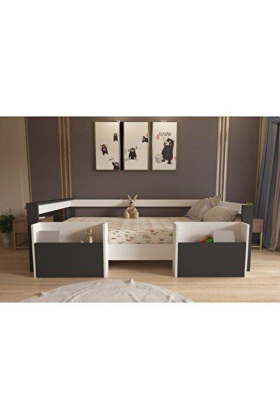 Herseycik Cepli Montessori Çocuk Yatağı-m2a -90x190 Yatak Uyumlu