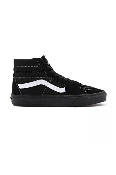 Vans Ua Sk8-hi (suede/canvas) Black/black/true White Unisex Spor Ayakkabısı