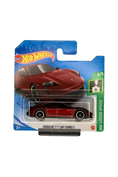 HOT WHEELS - Porsche Taycan Turbo - 1:64 Ölçek - Hw Green Speed