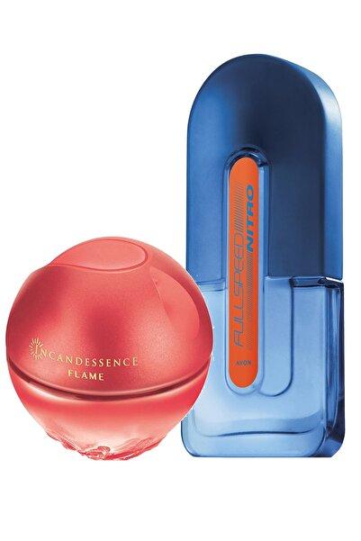 AVON Full Speed Nitro Erkek Parfüm Ve Incandessence Flame Kadın Parfüm Paketi
