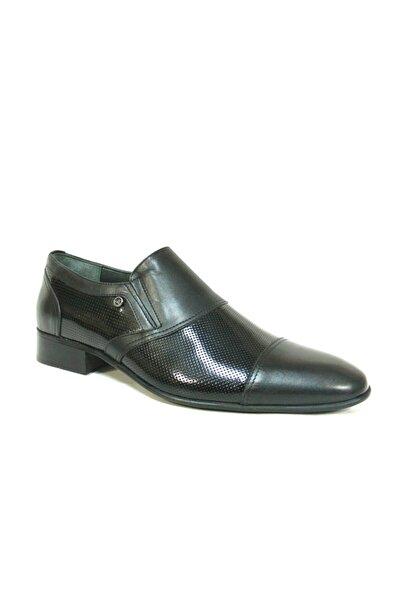 Zirve Siyah Bağcıksız Erkek Ayakkabı