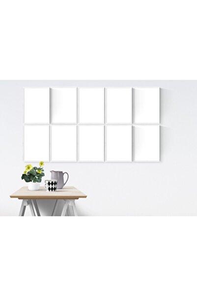 YED Frame A4 - 21x30cm Resim Çerçeve Seti - 10'lu - Beyaz -