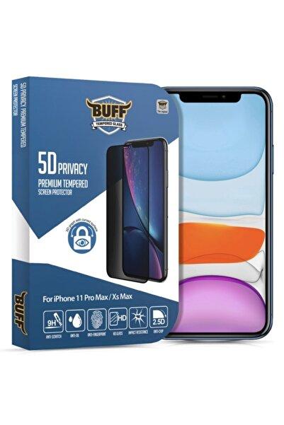 Buff Orjinal Iphone 11 Pro Max / X Max / Xs Max Privacy Hayalet Darbe Emici Ekran Koruyucu