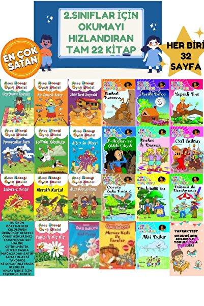Erdem Yayınları 2.sınıflar Için Okuma Kitabı Okumayı Sevdiren Okumayı Hızlandıran Evony Tonguç Seti Tam 22 Kitap