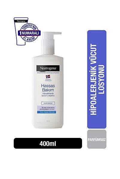 Neutrogena Hassas Bakım Parfümsüz Vücut Losyonu 400ml