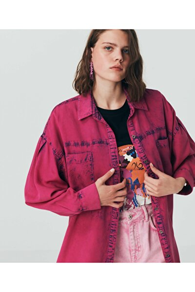 Twist Batik Yıkama Gömlek