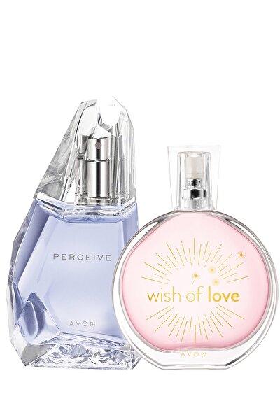 AVON Wish Of Love Ve Perceive Kadın Parfüm Paketi