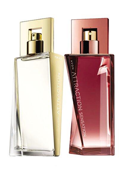 AVON Attraction Ve Attraction Sensation Kadın Parfüm Paketi