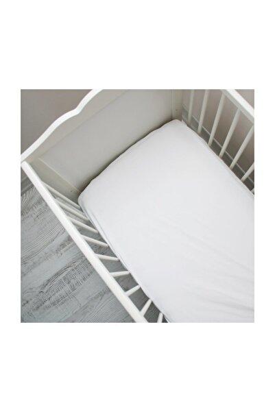kalitem çarşafçı Lastikli Bebek Çarşafı 70x140cm 7 Renk Beyaz