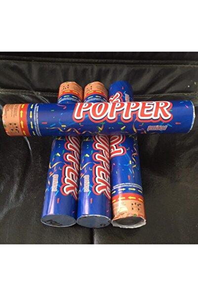 party popper Popper Klasik Renkli Konfeti 30 Cm