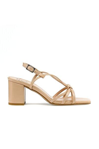 İnci Ten Kadın Topuklu Ayakkabı