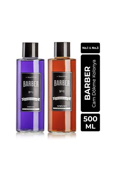 Barber Cam Kolonya Seti 2x500 Ml No.1 Ve No.3
