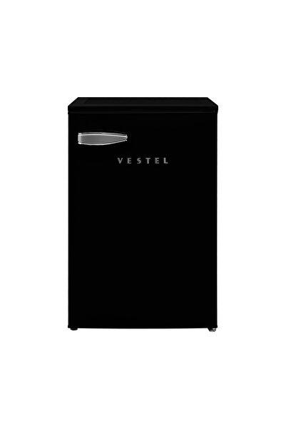 Vestel Retro Sb14101 Siyah Mini Buzdolabı