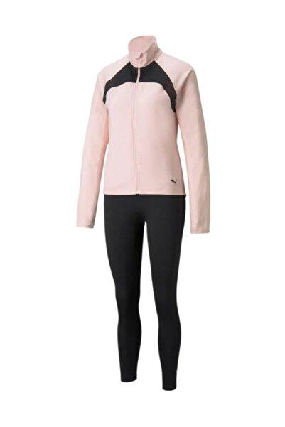 Puma Kadın Spor Eşofman Takımı - Active Yogini Woven Suit Lotus - 58913636