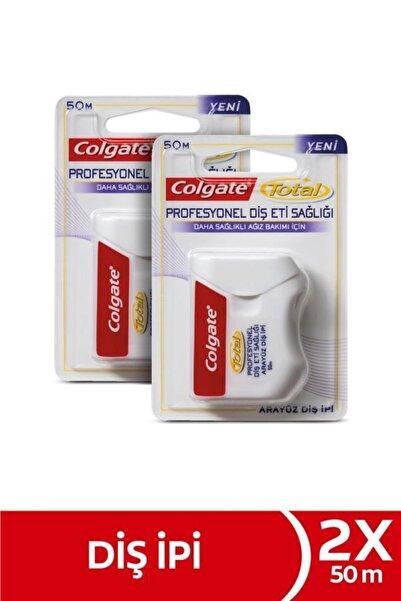 Colgate Total Profesyonel Diş Eti Sağlığı Arayüz Diş Ipi 2 X 50 M