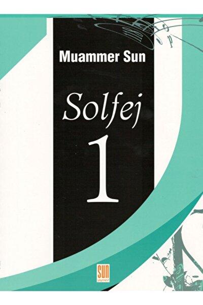Sun Yayınevi Muammer Sun - Solfej 1 Cd'siz