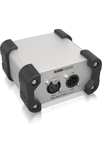 Klark Teknik Ds 20 1-in / 2-out Pasif Sinyal Dağıtıcı