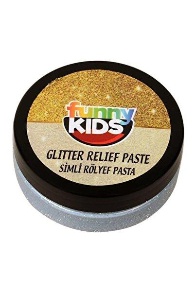 Rich Funny Kids Simli Rölyef Pasta Gümüş 50cc