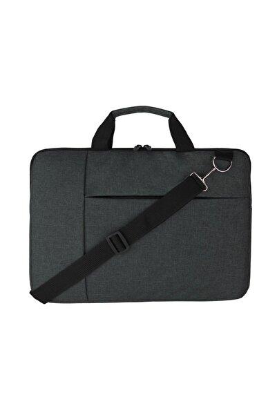 """Beutel Unisex 14"""" - 15"""" Slim Evrak, Notebook, Laptop, Bilgisayar Çantası - Füme"""
