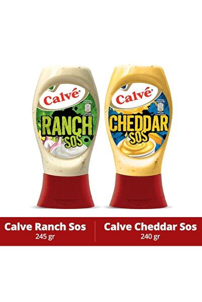 Calve Ranch Sos 245 Gr & Cheddar Sos 240 Gr