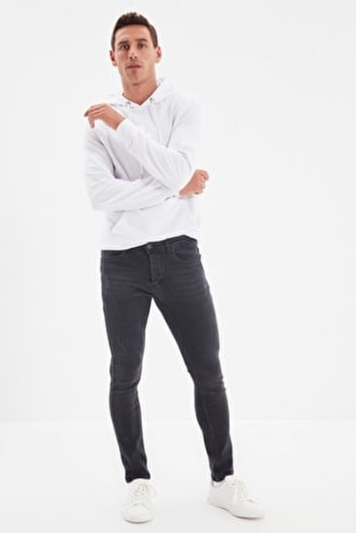Siyah Erkek Skinny Yeni Jeans TMNAW20JE0405